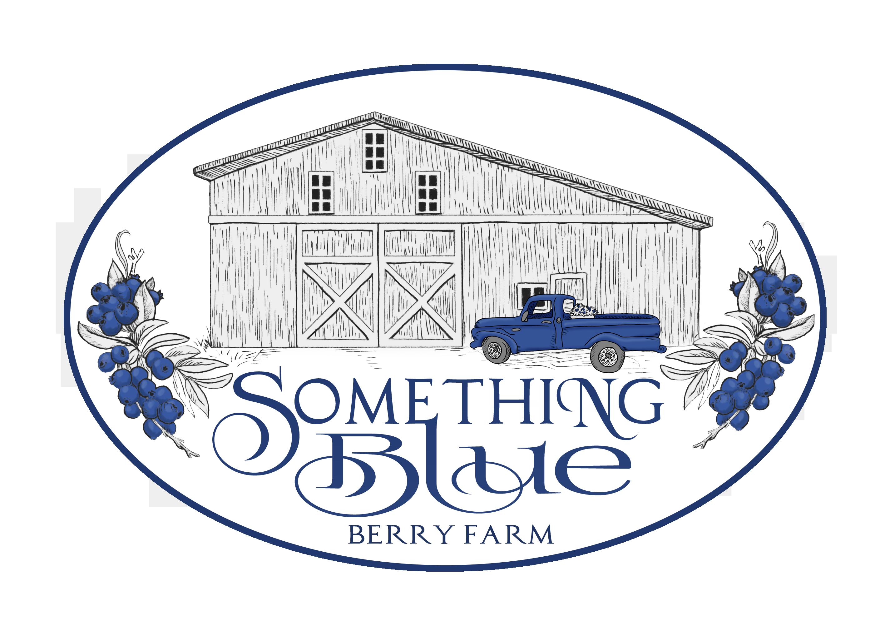 Something Blue Berry Farm Logo