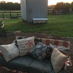 Some antiques setup on the farm.