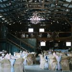 Inside the barn setup for an amazing night