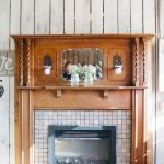 Great look at the fireplace.